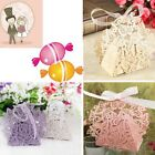 10/50/100pcs Butterfly Ribbon Gift Candy Paper Box Wedding Party Favor Paper Bag
