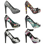 IRON FIST Scarpe DONNA Shoes TACCO Originali NUOVE New VARI MOD Womens ROCK Punk