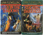 Luck in the Shadows & Stalking Darkness by LYNN FLEWELLING Nightrunner #1-2