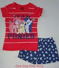 MY LITTLE PONY Girls 4 5 6 6X Set OUTFIT Shirt Shorts MLP Pinkie Pie
