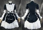 M-520 Gr. M blau weiß Cosplay Gothic Lolita Damen Kostüm dress Anime
