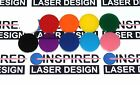 """2"""" 50mm 10 Pack  Acrylic disc 22 color acrylic round Craft Disk plexiglass"""
