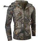 Tactical Outdoor Hunting Camouflage Shooter Leather Jacket Coat M-XXL