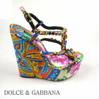 DOLCE & GABBANA DAMEN BUSINESS SCHUHE DONNA DECOLTE PUMPS NEW ORIGINAL