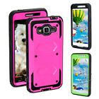 Hybrid Protective Armor Back Hard Case Cover For Samsung Galaxy Grand Prime G530