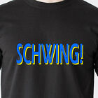 SCHWING! snl wayne's world nbc garth dvd 90s 80s vintage tv retro Funny T-Shirt