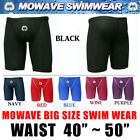 "Mowave Big size swim wear pants trainning shorts athletic tight waist 40""~50"""