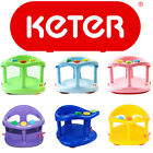 KETER Baby Bath Seat Ring Chair Tub Infant Toddler Bathtub Fun Wash Anti Slip