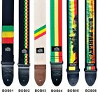Dunlop - Bob Marley Guitar Straps in a Choice of Design and colour