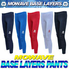 Mowave women men compression baselayers long pants running gym sports leggings