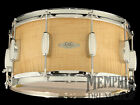 C&C 14 x 7 Maple/Gum Snare Drum - Curly Maple Satin