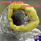 Acoustic Ducting Insulated 250mm 300mm 355mm X 5m Length Air Ventilation