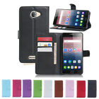 Magnetic Card Wallet PU Leather Case Stand Cover For Alcatel One Touch Pop 4S