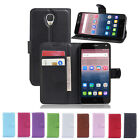 Magnetic Card Wallet PU Leather Case Stand For Alcatel One Touch Pop 4/4 Plus