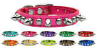 Chaser Spikes & Studs Metallic Leather Dog Collar - Variety of Sizes