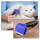 Pet Puppy Dog Comb Fur cleanner Removal Knife Brush Trimmer Shedding Rake
