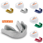 10 x GAME GUARD Adult Junior Mouth Guard, Gum shield, Boxing, Hockey, Rugby MMA