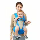 Baby Carrier Newborn Wrap Sling Infant Backpacks with Hip Seat for 3-48 Months