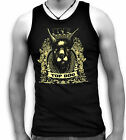 Top Dog Doberman Be Aware Mens Sleeveless Muscle T Tank Top Vest Sm-2XL