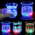 2pcs Water Liquid Activated Glowing Wine Glass Cup Mug LED Flashing Party Cup