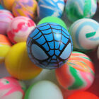 1-50Pcs Colorful 27mm Bouncy Jet Balls Kids Toy Birthday Party Loot Bag Filler