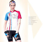 NUK Casual Women Team Cycling Jersey Shirt Shorts Kits Bicycle Tops Short Sleeve