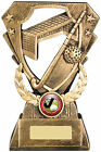 Hockey Award Trophy, FREE ENGRAVING.Hockey Ball, Goal and stick design