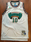 NBA Vancouver Grizzlies Mike Bibby Hardwood Classic Sewn Jersey White NWT