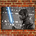 STAR WARS LUKE SKYWALKER CANVAS WALL ART BOX PRINT PICTURE SMALL MEDIUM LARGE
