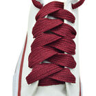 """52"""" Thick Sneakers Athletic Shoelace String """"Burgundy"""" Shoelaces 1,2,12 Pairs"""