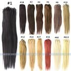 "100g 18-24"" Loop Micro Ring Bead Tipped Straight Remy Human Hair Extensions 100s"