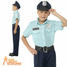 Child Police Officer Costume Boys Cop Book Week Day Fancy Dress Outfit New