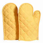 Oven Mitts Kitchen Oven Gloves 100% Cotton Heat Resistant Oven Baking Gloves