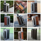 Authentic Lost Vape Therion DNA75 Evolv Chip TC Box w Leather Battery Door +TFV8