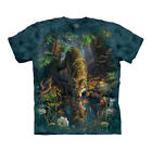 Kyпить The Mountain Enchanted Wolf Pool Adult Unisex T-Shirt на еВаy.соm