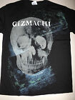 GIZMACHI Skull X-Ray T-shirt **NEW music concert tour band