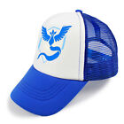 New Pokemon GO Hat Team Mystic Mesh Cap Hat Pokémon GO Nintendo 9 Color