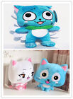 Cute Fairy Tail Happy Charles Couple Stuffed Plush Toy Dolls Cosplay Prop Gift