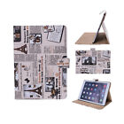 Flip Folding Stand PU Leather Smart Case Cover For Apple iPad 2 3 4/Air 1 2/mini