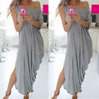 Style Women's Summer Boho Long Maxi Evening Party Dress Beach Dresses Sundress