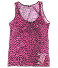 DOLCE & GABBANA womens vest tank top leopard (pink/black) NEW