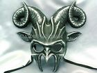 Ram Goat Masquerade Ball Mask Horn Halloween Costume Haunt House Party Wall Deco