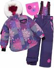 Deux par Deux Girls' 2-Piece Snowsuit Passion Flocon Astral Aura, Sizes 4-14