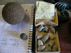 11 Confederate .58 Caliber Minie Balls, 1 Musket Ball, & 1 Cannon Ball