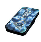 Deathly Hallows | Printed Faux Leather Flip Phone Cover Case Harry Potter Style