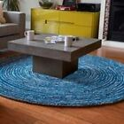 Anji Mountain Ripple blue skies ROUND Rug NEW choose from  6' and 8'