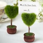 Unusual Heart Design Topiary Place Card Holder  5368