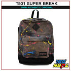 2016 Brand New JanSport Super FX Backpack White Faded Stars Jack Union navy moon