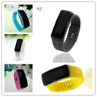 Sport LED Wrist Watch Waterproof Rubber Bracelet Digital Fashion Men Women