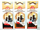 NEW (x2 Pair) Kiwi Braided Cord Hiking Boot Laces Strings Black Brown Two Toned